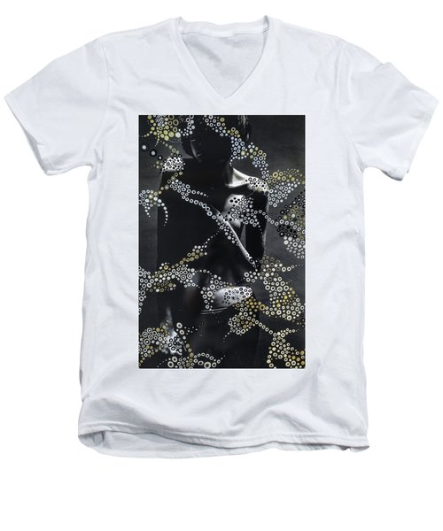 Let Us Dwell On Life Men's V-Neck T-Shirt