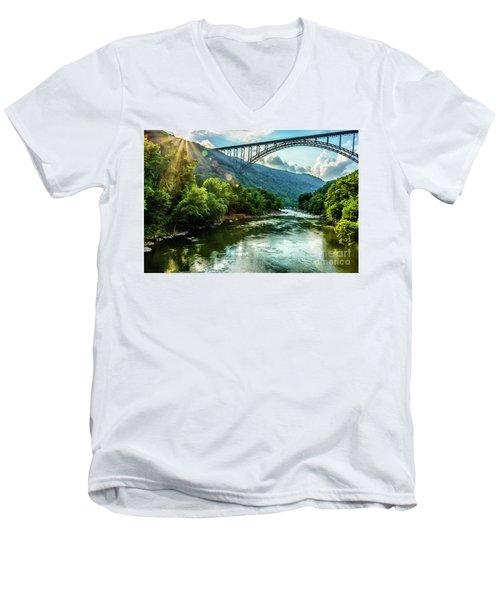 Let Your Light Shine Men's V-Neck T-Shirt