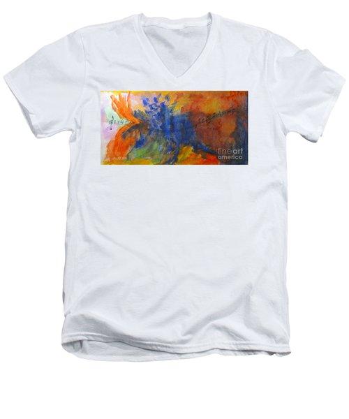 Let Your Music Take Wing Men's V-Neck T-Shirt