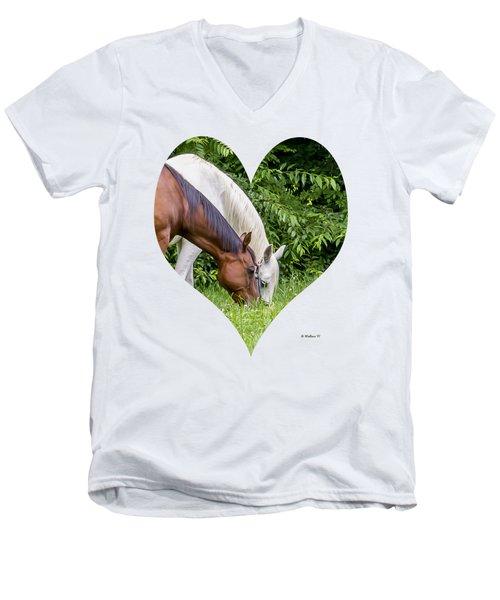 Let's Eat Out Men's V-Neck T-Shirt