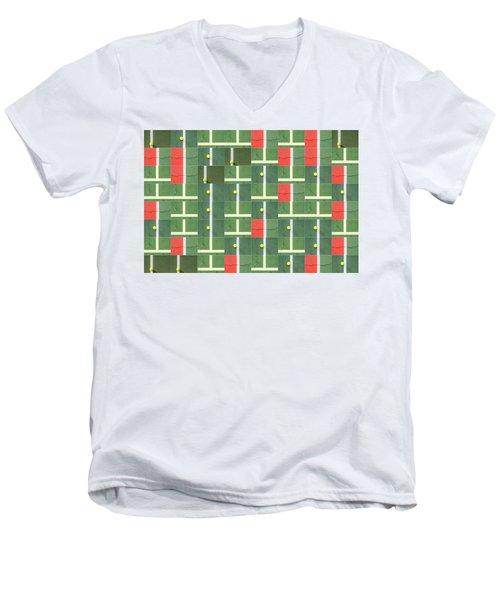 Let's Play Some Tennis Men's V-Neck T-Shirt