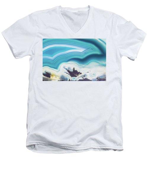 Level-22 Men's V-Neck T-Shirt by Ryan Weddle