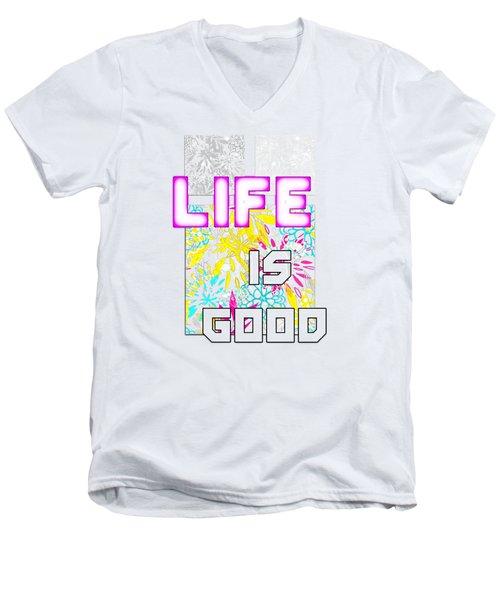 Life Is A Gift Men's V-Neck T-Shirt