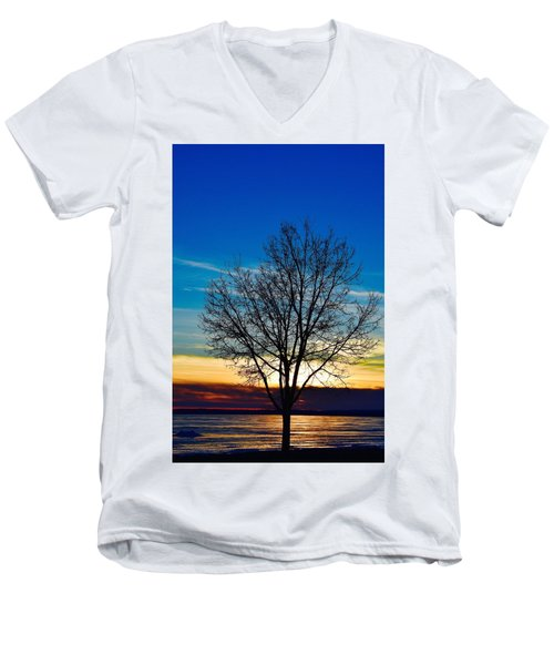 Men's V-Neck T-Shirt featuring the photograph Life Is Beautiful by Dacia Doroff