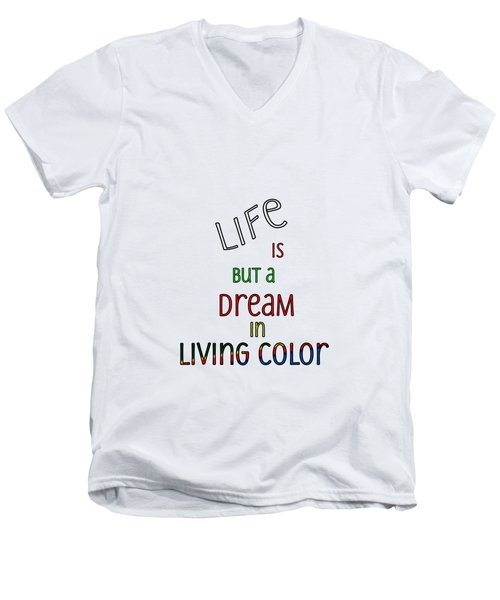 Life Is But A Dream Men's V-Neck T-Shirt