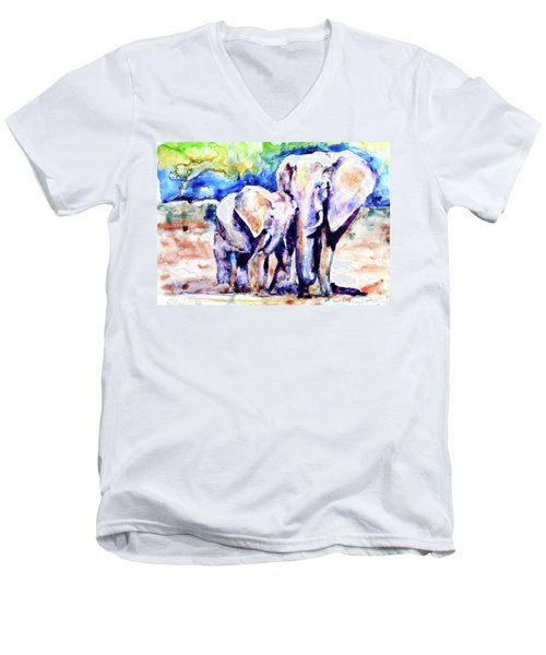 Life Long Bonds Men's V-Neck T-Shirt