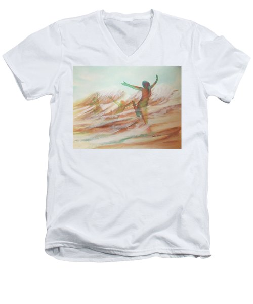 Life Transcendent Men's V-Neck T-Shirt