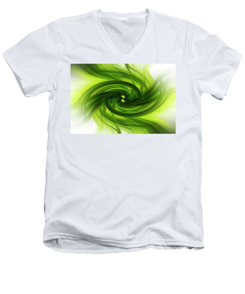 Light Abstract 8 Men's V-Neck T-Shirt