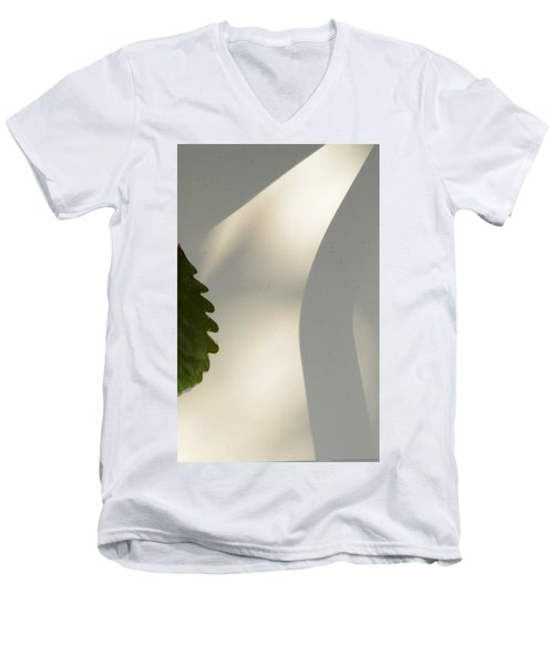 Men's V-Neck T-Shirt featuring the photograph Light by Allen Beilschmidt