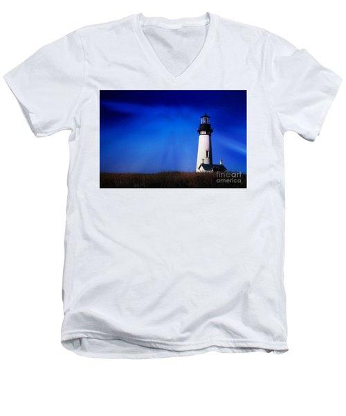 Light My Way Men's V-Neck T-Shirt