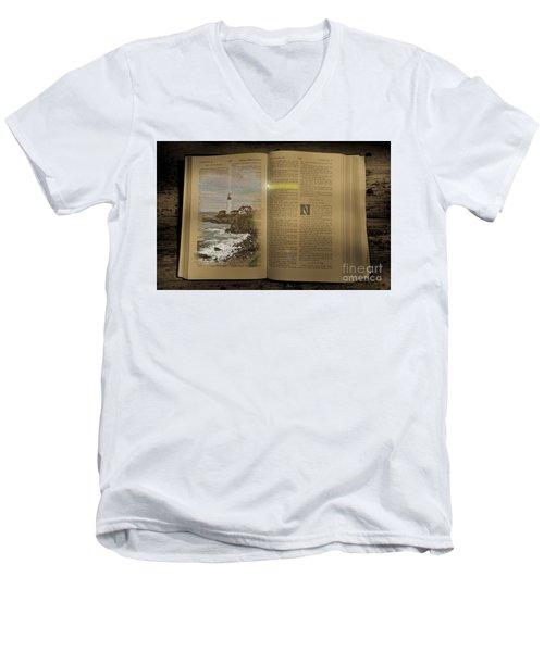 Light Of The World Men's V-Neck T-Shirt