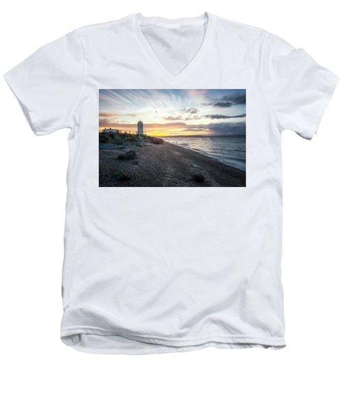 Light On Puget Sound Men's V-Neck T-Shirt