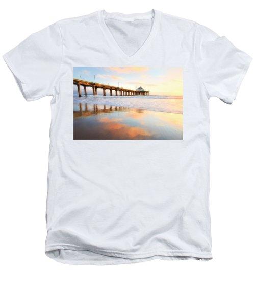 Light Reflections Men's V-Neck T-Shirt by Nicki Frates
