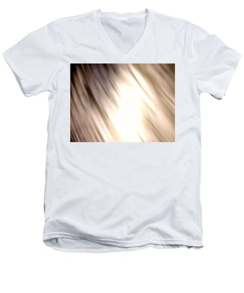 Light Waves Men's V-Neck T-Shirt