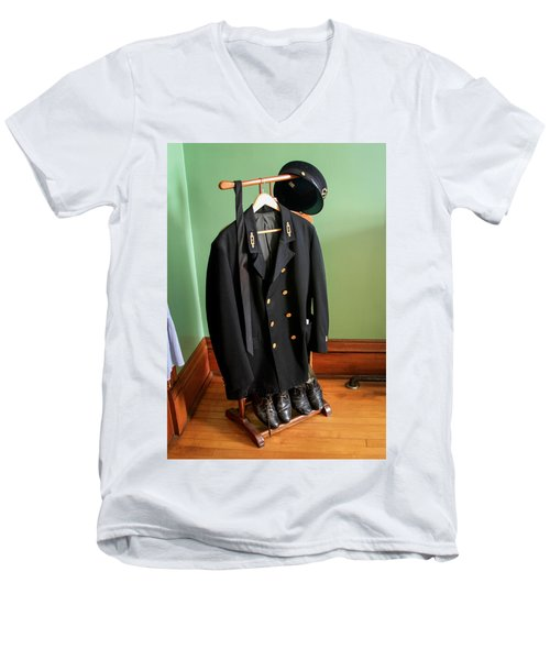 Lighthouse Keeper Uniform Men's V-Neck T-Shirt