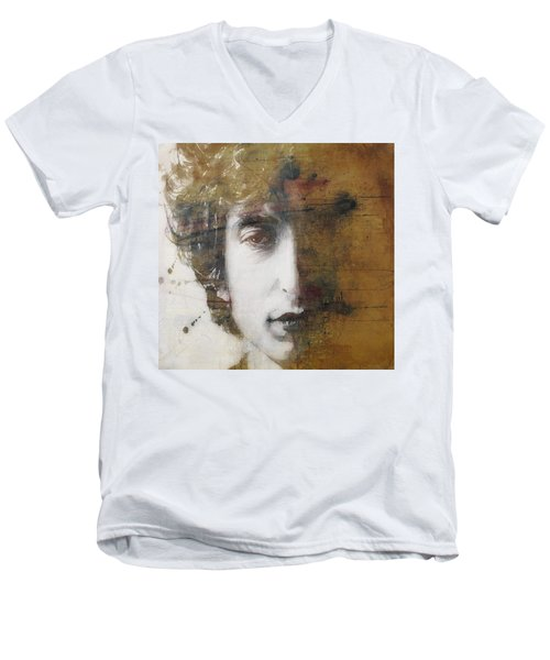 Like A Rolling Stone  Men's V-Neck T-Shirt