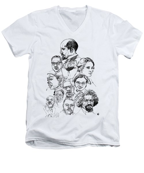 Like This Men's V-Neck T-Shirt by Howard Barry