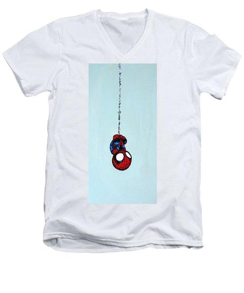 L'il Webcrawler Men's V-Neck T-Shirt