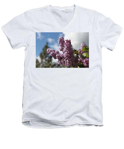 Lilacs 5547 Men's V-Neck T-Shirt