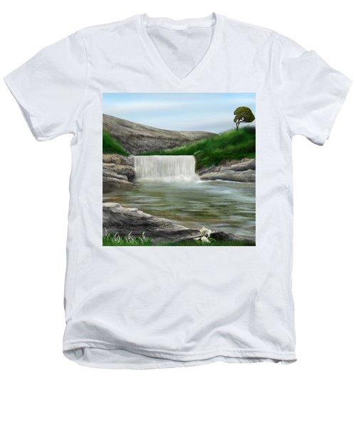Lily Creek Men's V-Neck T-Shirt