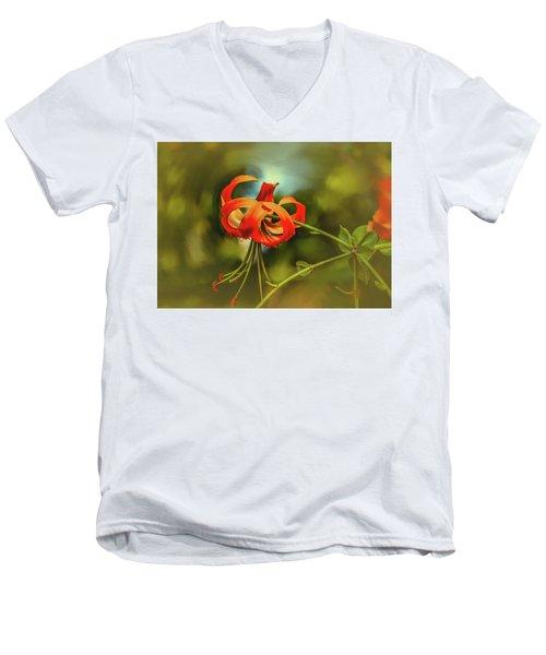 Lily #h8 Men's V-Neck T-Shirt