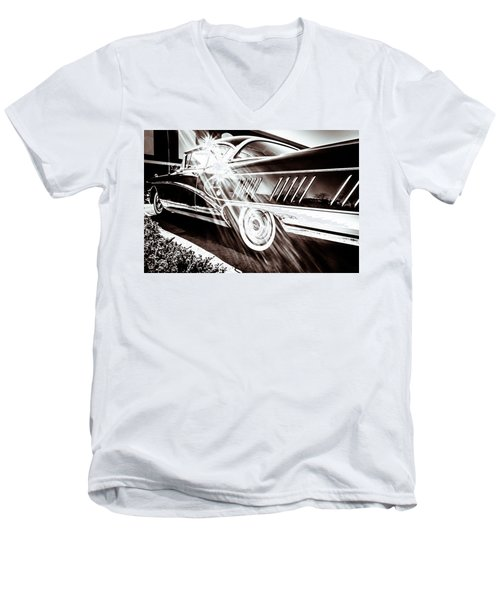 Men's V-Neck T-Shirt featuring the photograph Limited by Wade Brooks