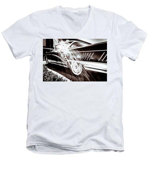 Limited Men's V-Neck T-Shirt by Wade Brooks