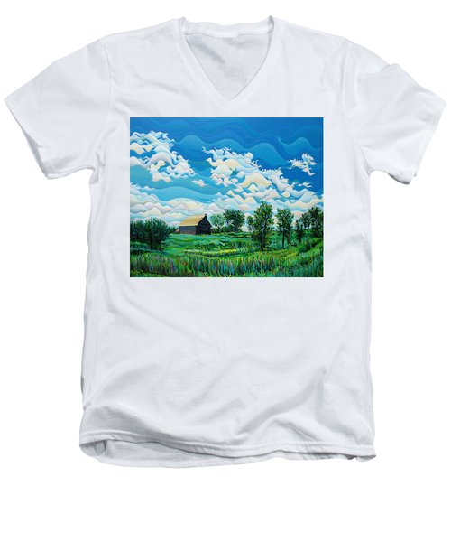 Limitless Afternoon Dreams Men's V-Neck T-Shirt
