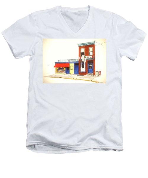 Lincoln News Men's V-Neck T-Shirt