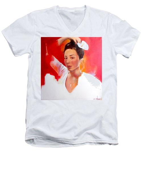 Linda Lightbody Men's V-Neck T-Shirt