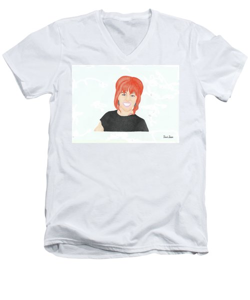 Lindsey Stirling Men's V-Neck T-Shirt
