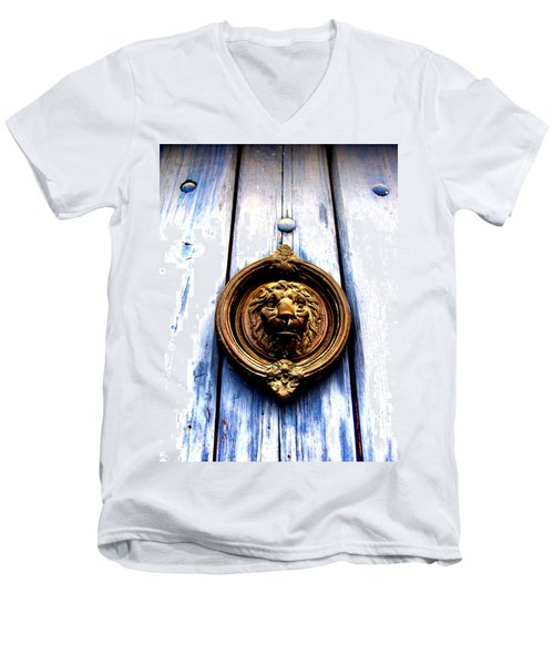 Lion Dreams Men's V-Neck T-Shirt