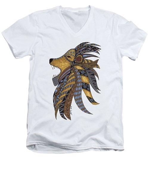 Roar Men's V-Neck T-Shirt