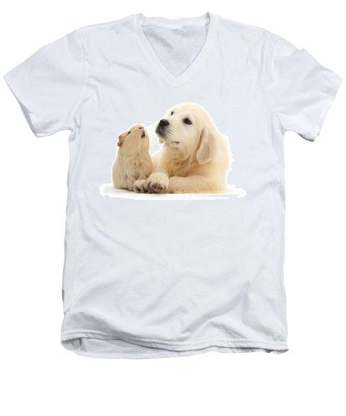 Listen When I'm Tellin Ya Men's V-Neck T-Shirt