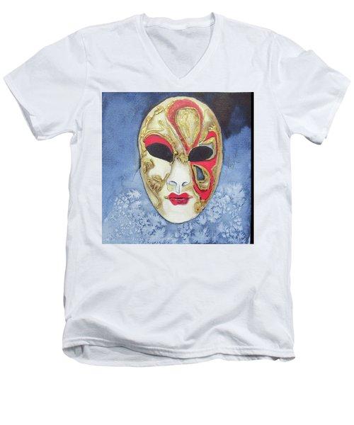 Litha Men's V-Neck T-Shirt