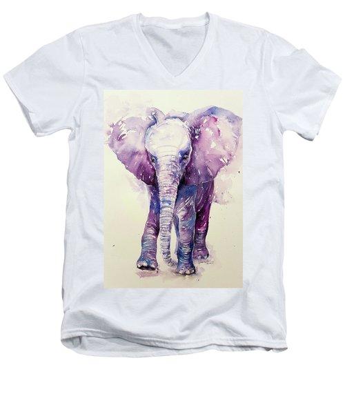 Lit'l Bobo Men's V-Neck T-Shirt