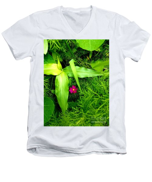 Little Flower Men's V-Neck T-Shirt