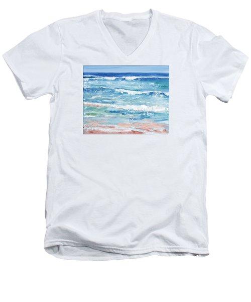 Little Riptides Men's V-Neck T-Shirt