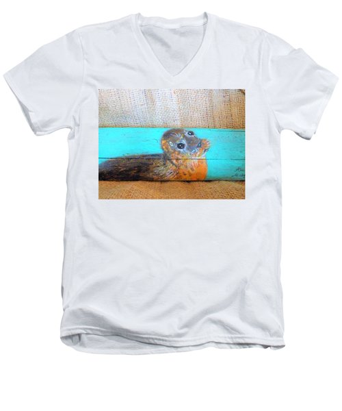 Little Seal Men's V-Neck T-Shirt