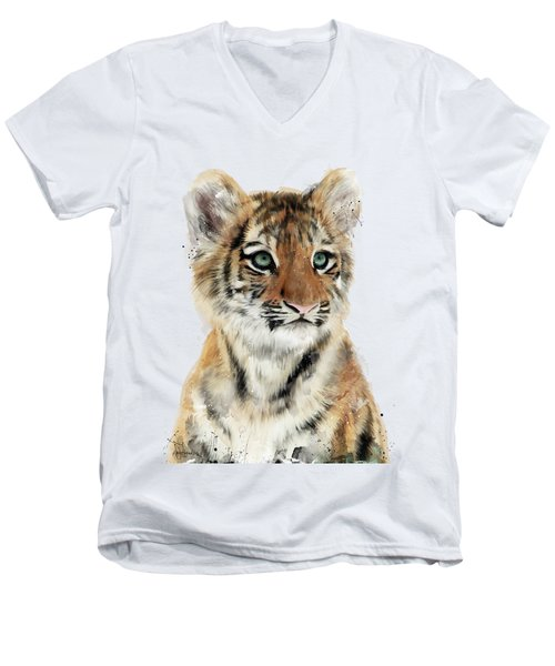 Little Tiger Men's V-Neck T-Shirt