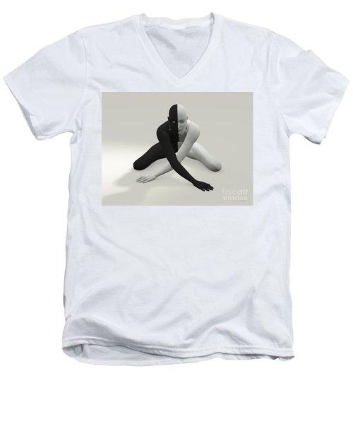 Lives Matter Men's V-Neck T-Shirt