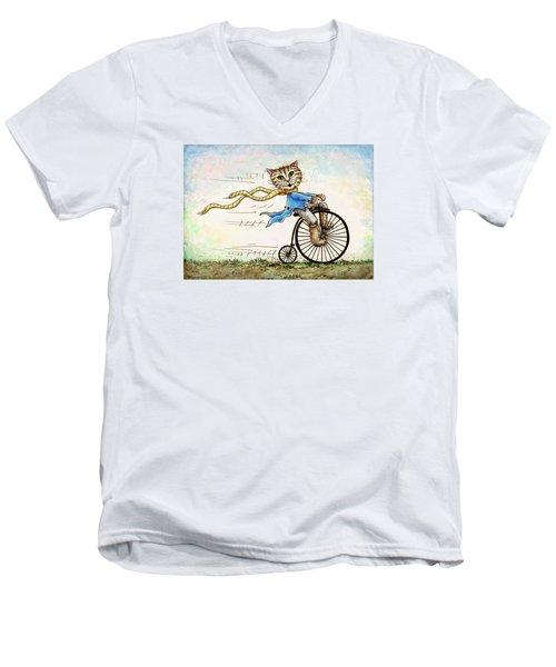 Living Flamboyantly Men's V-Neck T-Shirt