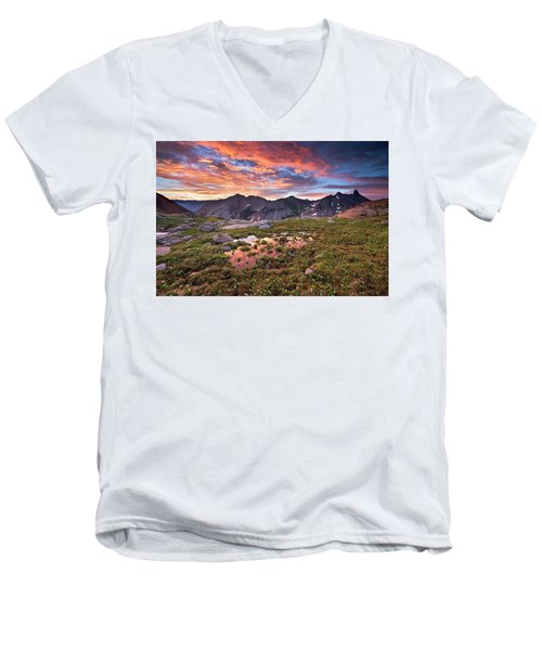 Lizard Head Wilderness Men's V-Neck T-Shirt