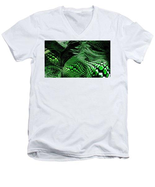 Dragon Skin Men's V-Neck T-Shirt