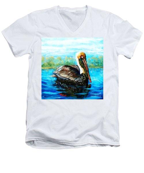 L'observateur Men's V-Neck T-Shirt