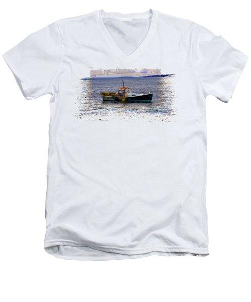 Lobstermen Men's V-Neck T-Shirt
