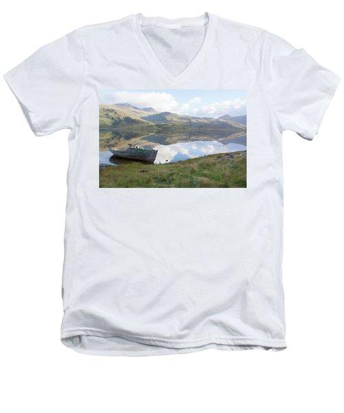 Loch Beg Reflects Men's V-Neck T-Shirt
