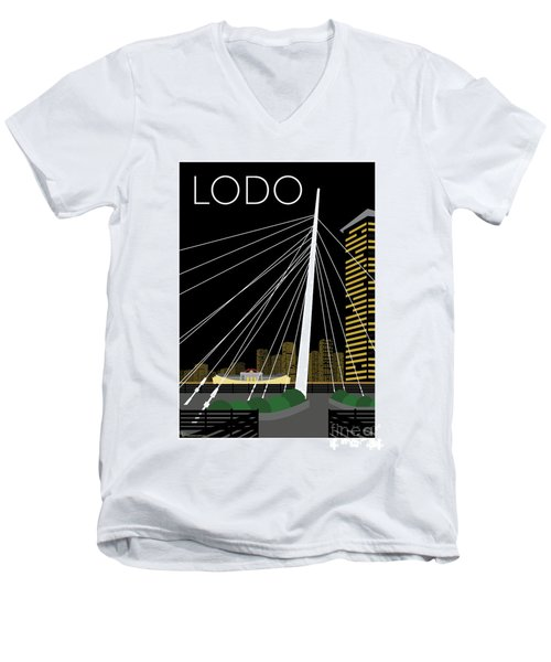 Lodo By Night Men's V-Neck T-Shirt