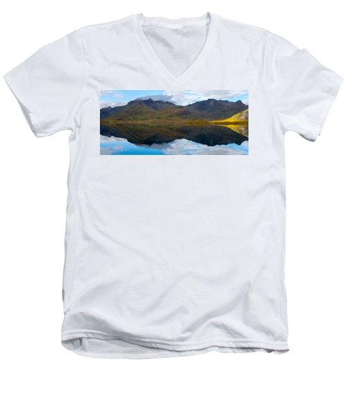 Lofoten Lake Men's V-Neck T-Shirt