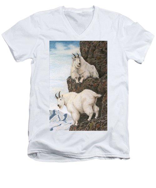 Lofty Perch Men's V-Neck T-Shirt